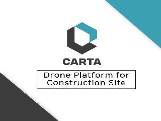 건설용 드론 데이터 플랫폼 '카르타', 투자유치 성공